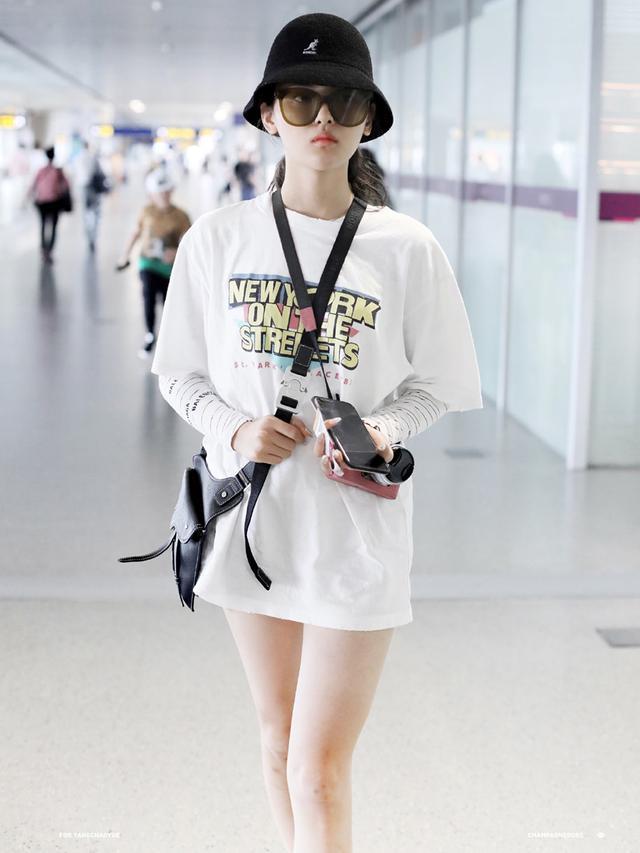 時尚又防晒,難怪火箭少女都愛穿